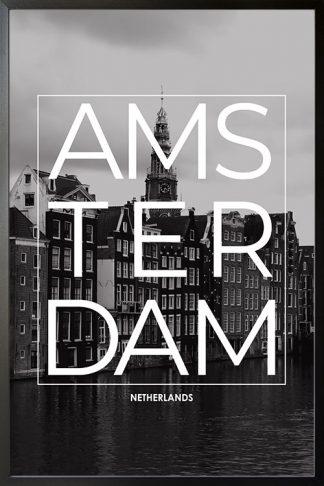 Amsterdam B&W Typo