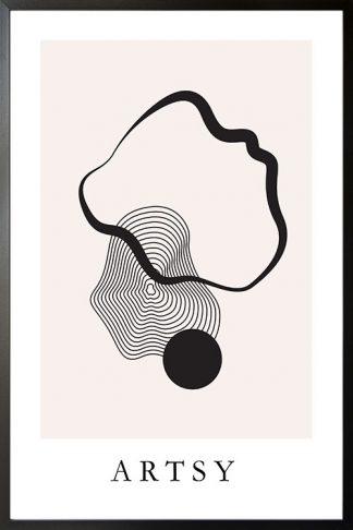 Artsy Abstract no. 2 poster