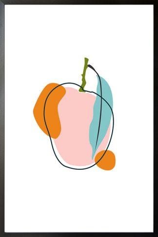 Abstract Mango poster