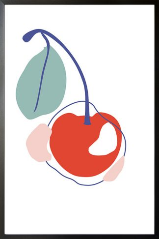 Abstract Cherry poster